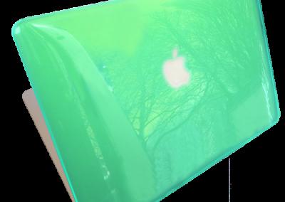macbook cover groen kl