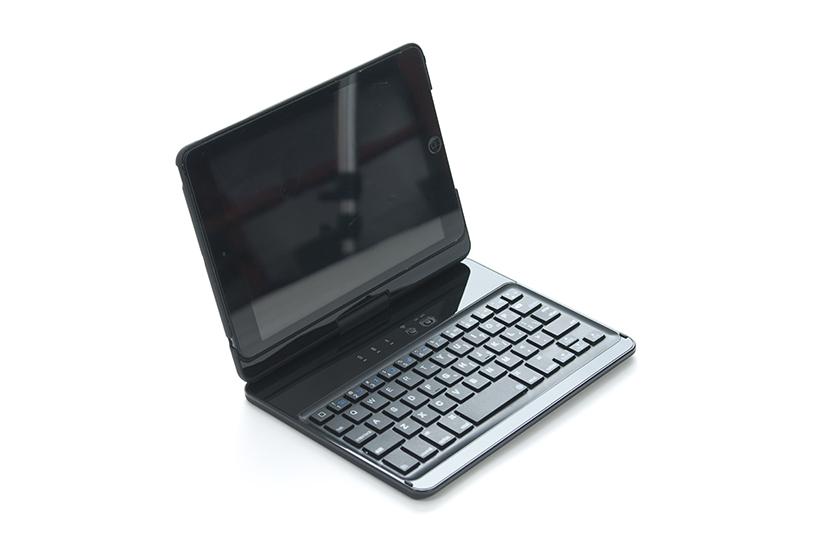 Keyboard hoes 360° voor de iPad mini 1, 2, 3, 4